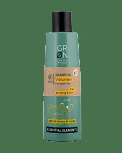 GRN [GRÜN] Volumen Shampoo Bio-Hanf & Bio-Bier & Honig - Essential Elements  ESSENTIAL ELEMENTS