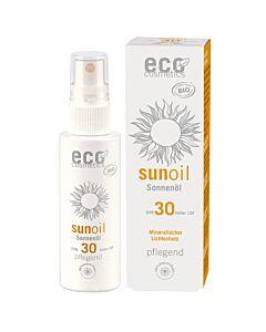 Eco Cosmetics Sonnenöl Spray LSF 30 transparent & neutral