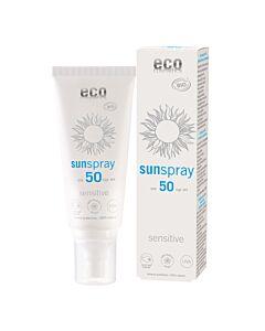 Eco Cosmetics Sonnenspray LSF 50 sensitive