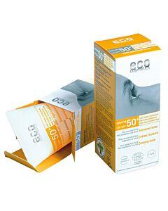 Eco Cosmetics Sonnencreme LSF 50+ leicht getönt