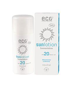Eco Cosmetics Sonnenlotion Neutral LSF 20 ohne Parfum  Neutral