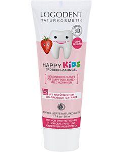 Logona HAPPY KIDS Erdbeer Zahngel