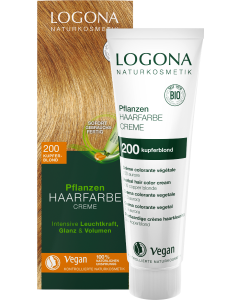 Logona Pflanzen-Haarfarbe Creme 200 kupferblond
