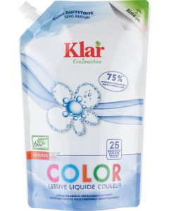 Klar Color Waschmittel flüssig Öko-Pack
