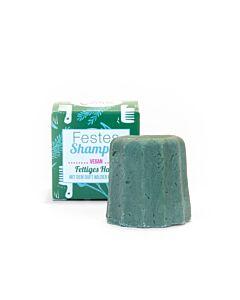 Lamazuna Festes Shampoo-Wilde Kräuter für fettiges Haar