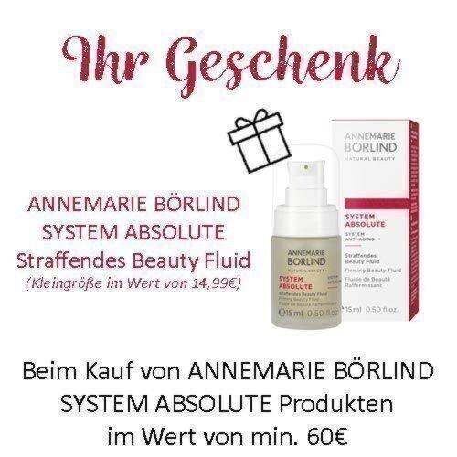 ANNEMARIE BÖRLIND  SYSTEM ABSOLUTE  Straffendes Beauty Fluid (Kleingröße im Wert von 14,99€)
