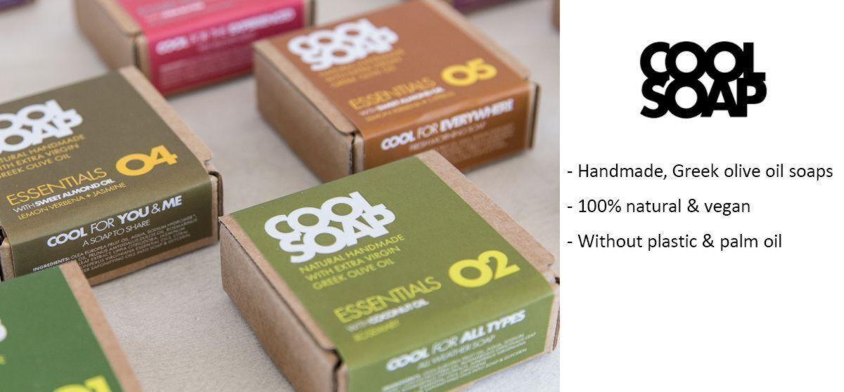 Cool Soap: Handmade, Greek & vegan olive oil soaps