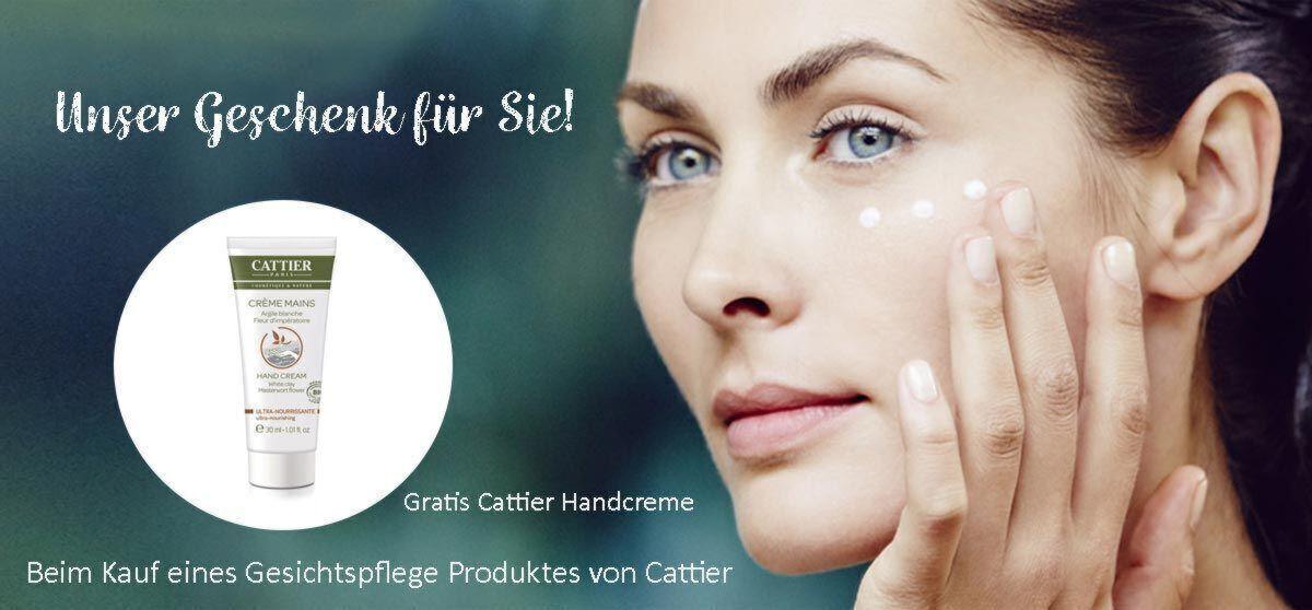 Gratis Cattier Handcreme bei Kauf eines Gesichtspflege-Produktes