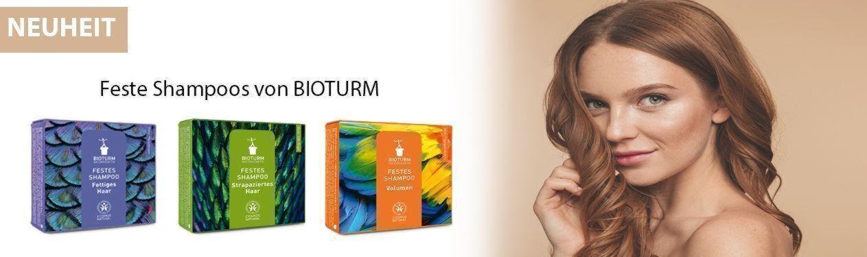 NEU: feste Shampoos von BIOTURM