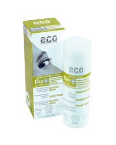 Eco Cosmetics Gesichtscreme LSF 15 getönt
