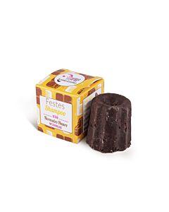 Lamazuna Festes Shampoo Schokolade für normales Haar
