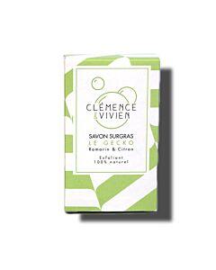 Clémence et Vivien Peeling-Naturseife Le Geko